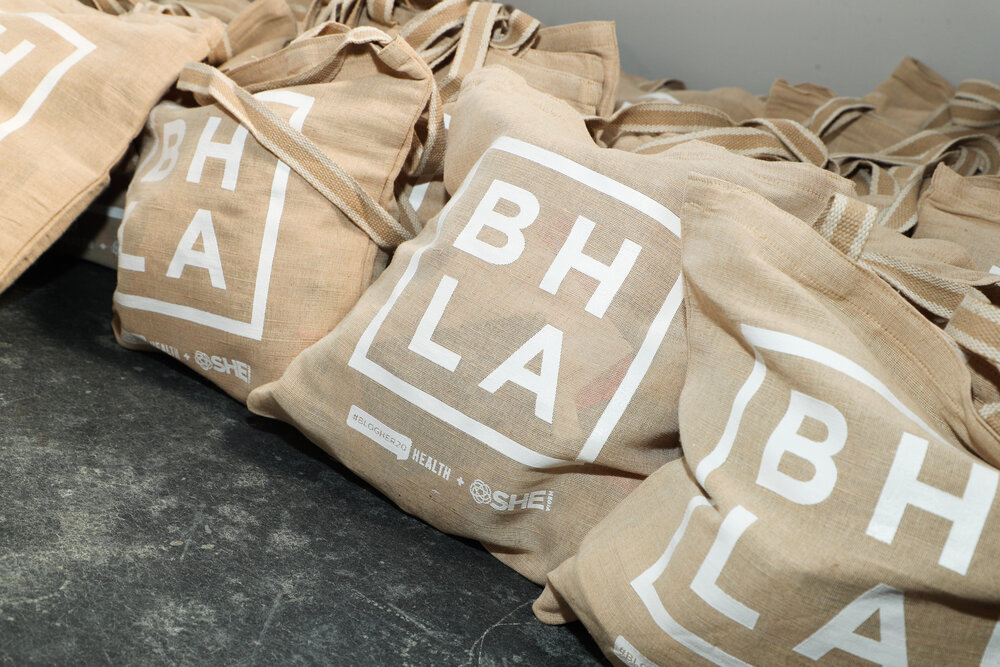 Our Tote-Bags, Full of Amazing Sample Products From Our Generous Sponsors!