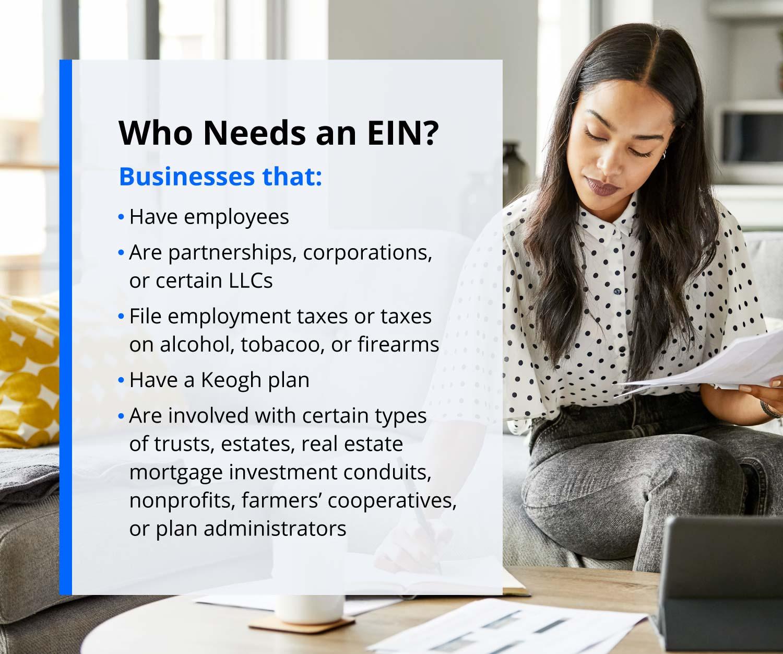 who needs an EIN